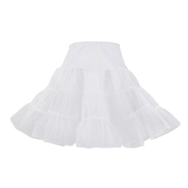 Adult white petticoat for retro 50's costume