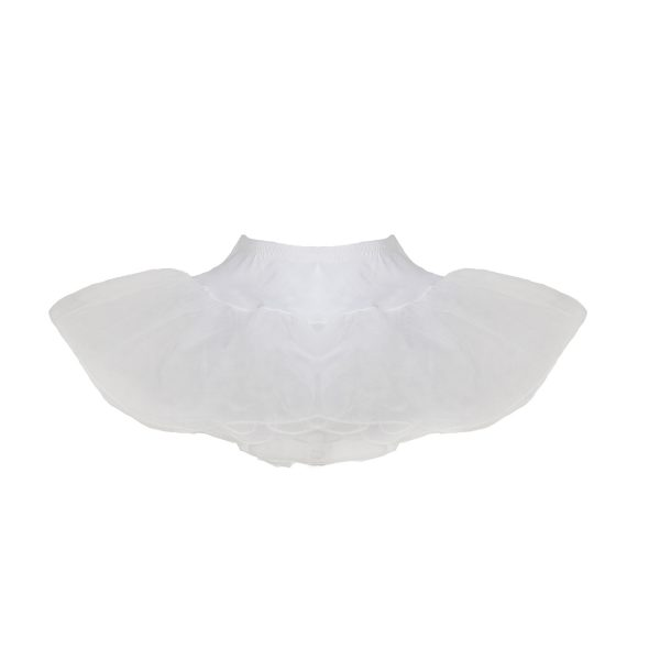 Infant and baby white petticoat for under 50's poodle skirt